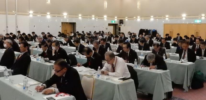 令和元年度 合同臨時総会・首長連絡会